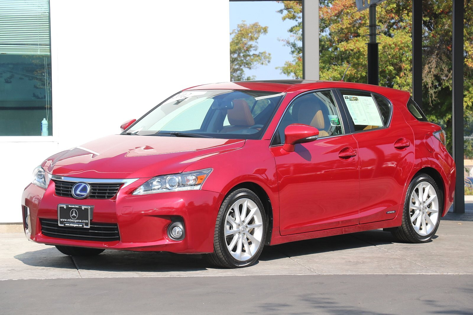Pre-Owned 2012 Lexus CT 200h Premium FWD With Navigation